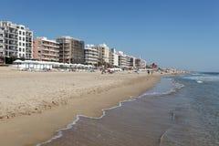 Guardamar del Segura beach, Spain Stock Image