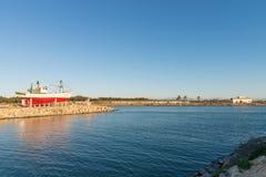 Guardamar-Hafen lizenzfreie stockbilder