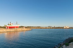 Guardamar harbor Royalty Free Stock Images