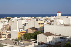 Guardamar is a municipality of the province of Alicante Royalty Free Stock Photos