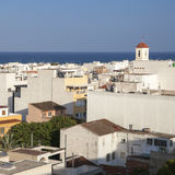 Guardamar is a municipality of the province of Alicante located Stock Photo