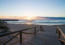 Guardamar-Strand stockfoto