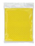 Guardanapo amarelos em um bloco transparente Imagens de Stock Royalty Free