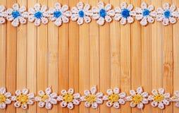 Guardanapo de bambu Imagens de Stock Royalty Free