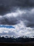 Guardando ad ovest da Westcliffe, Colorado Fotografie Stock