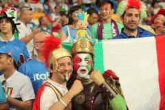 Guardando contro l'Italia Fotografie Stock