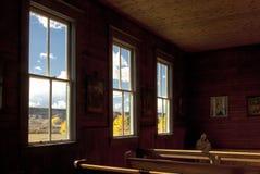 Guardando dall'interno verso l'esterno, Dorothy Alberta immagini stock libere da diritti