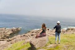 Guardando fisso attraverso l'Atlantico del Nord 2 Immagini Stock Libere da Diritti
