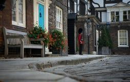 Guardando Londres Imagens de Stock