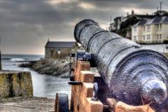 Guardando o porto Foto de Stock Royalty Free