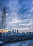 Guardando verso Los Angeles Fotografia Stock