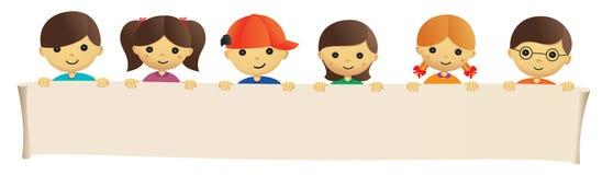 Guardar bonito das crianças Imagem de Stock Royalty Free