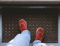 Guardare dall'alto in basso l'uscita Fotografia Stock