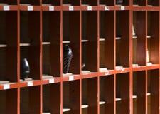Guardaroba del pattino Fotografia Stock Libera da Diritti