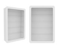 Guardaroba isolato su fondo bianco, rappresentazione 3D Fotografia Stock