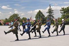 Guardas de Anitkabir Imagenes de archivo