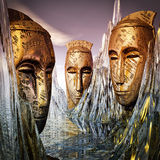 Guardas de la sabiduría Imagen de archivo