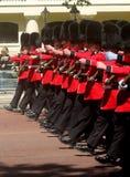 Guardas de marcha Foto de Stock Royalty Free