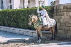 Guardas en Rabat Foto de archivo libre de regalías