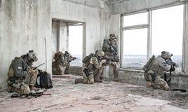 Guardas florestais na ação Foto de Stock