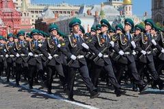 Guardas fronteiriças Fotografia de Stock Royalty Free