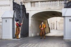 Guardas suíças Imagem de Stock Royalty Free