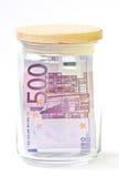Guarde el concepto del dinero Imagen de archivo libre de regalías