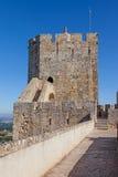 Guarde la atalaya del castillo de Palmela Imagenes de archivo