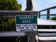 Guarded  Area Stock Photography