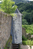 Guardhouse at castle Lichtenberg. (Fischbachtal, Hesse, Germany Royalty Free Stock Images