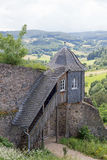 Guardhouse at castle Lichtenberg. (Fischbachtal, Hesse, Germany Royalty Free Stock Photos