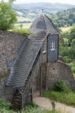 Guardhouse at castle Lichtenberg. (Fischbachtal, Hesse, Germany Royalty Free Stock Image