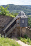 Guardhouse at castle Lichtenberg. (Fischbachtal, Hesse, Germany Stock Photos