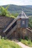 Guardhouse at castle Lichtenberg Stock Photos