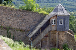 Guardhouse at castle Lichtenberg. (Fischbachtal, Hesse, Germany Royalty Free Stock Photography