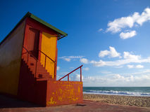 Guardhouse of lifeguards Royalty Free Stock Image