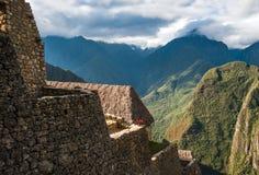 Guardhouse of Machu Picchu. Ancient Guardhouse of Machu Picchu, Peru Stock Photos
