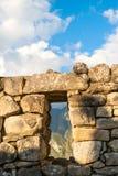 Guardhouse in Machu Picchu, Peru. Guardhouse in Machu Picchu, Andes, Sacred Valley, Peru Stock Photos