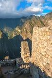 Guardhouse in Machu Picchu, Peru Stock Images