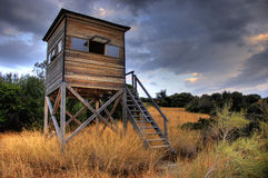 Guardhouse in a national park Royalty Free Stock Photo