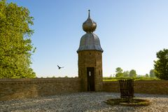 Guardhouse with nice roof Stock Image