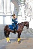 Guardiães do presidente em Moscovo Kremlin. Rússia foto de stock
