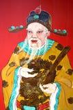 Guardião chinês do templo Foto de Stock Royalty Free