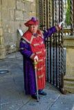 Guardião da catedral de Braga fotos de stock