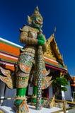 Guardião de Gaint em Wat Phra Kaew, templo de Emerald Buddha Imagem de Stock Royalty Free