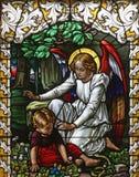 Guardião do anjo Fotografia de Stock Royalty Free