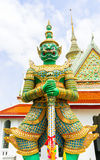 Guardião do demônio no wat Arun Fotografia de Stock