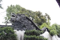 Guardião 2 do jardim de Shanghai Yu Fotos de Stock