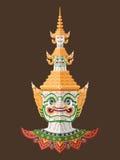 Guardião tailandês gigante, arte tailandesa Fotografia de Stock