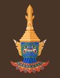 Guardião tailandês gigante, arte tailandesa Foto de Stock